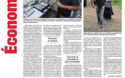 Article Optikal'in dans le journal: le Quotidien